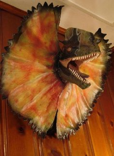 Mounted Dinosaur Head