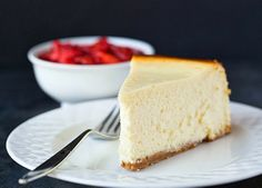 New York Cheesecake Recipe ❤ just put it in the oven!!!