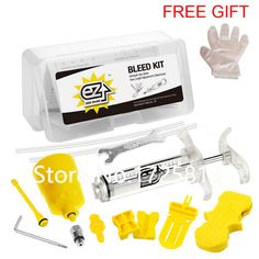 $22.15 (Buy here: https://alitems.com/g/1e8d114494ebda23ff8b16525dc3e8/?i=5&ulp=https%3A%2F%2Fwww.aliexpress.com%2Fitem%2FEZ-s-Hydraulic-Brake-Bleed-Tool-Kit-for-SHIMANO-Tektro-and-Magura-MT-Series-Disc-Brake%2F32703739008.html ) EZ's Hydraulic Brake Bleed Tool Kit for SHIMANO & Tektro and Magura MT Series Disc Brake, Professional Tool Kit, Made in Taiwan for just $22.15