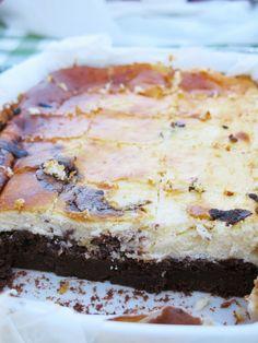 Entre harinas : Brownie de queso y chocolate