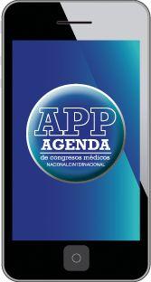 La Agenda más completa de Congresos - Pantalla de inicio