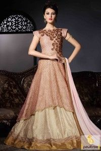 indian wedding reception gowns - Google Search | Indian gown ...