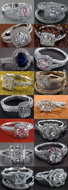 To see more gorgeous engagement rings from Verragio: www.modwedding.co... #wedding #weddings #engagement_rings