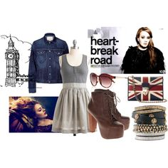 Springtime in London Town, created by jennachadwick on Polyvore