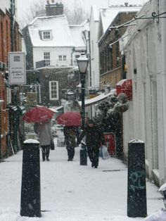 Snow in Hampstead Hampstead London, Hampstead Heath, English Architecture, London Instagram, Ghost Adventures, Holiday Places, Beacon Hill, Winter's Tale, Beautiful Streets