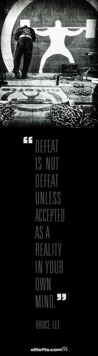 FIBROMITES WILL NOT BE DEFEATED..WE ARE WARRIORS--Motivation from Bruce Lee