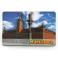 MDF-magneetti Varsovan kuninkaallinen linna. MDF-magneetti, kaksikerroksinen (kuperilla elementeillä), jossa näkyy Varsovan kuninkaallinen linna. #varsova #zygmuntinsarake #magneetti #jääkaappimagneetti #kuninkaallinenlinna Sissi, Big Ben, Castle, Building, Travel, Warsaw, Viajes, Buildings, Trips