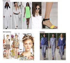 My favourite styles of Spring Summer 2014 COLLECTION apparel, shoes and make up by Ralph Lauren, RED Valentino, Rodebjer  ------- i miei preferiti della COLLEZIONE moda Primavera Estate 2014 abbigliamento scarpe accessori e trucco
