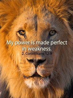 2 Corinthians 12:9 | Corinthians 12:9