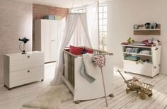 Prepare Furniture For Homecoming Baby: Cute Modern White Design Baby Furniture Set Ideas ~ Bedroom Inspiration