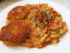 11 recept hétvégére, ha fogalmad sincs, mi legyen a menü! - A recept beküldője myTaste Vegan Burgers, Wok, Meatloaf, Tandoori Chicken, Curry, Lunch Box, Food And Drink, Low Carb, Vegetables