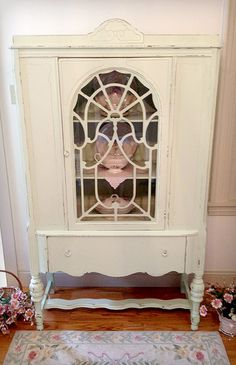 Image detail for -Antique Mint Green China Cabinet