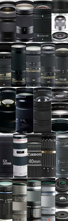 "The Best Lenses For your first lens beyond the ""kit lens"" that comes with your camera (usually an 18-to-55-mm version that'll do the job but won't be great), we have individual guides for Nikon, Canon, Micro Four Thirds, Fujifilm, and Sony E-Mount. Here"