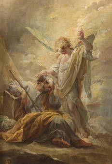 """""""El sueño de san José"""", Vicente López Portaña, 1791-1792"""