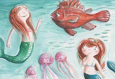 Mermaids by Ania Simeone