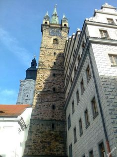 Black Tower in Klatovy, Czechia (February Prague, Czech Republic, Notre Dame, February, Tower, Canada, Country, Building, Places