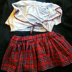 Naughty school girl outfit School girl outfit size xxl Intimates & Sleepwear