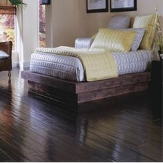 Brazilian Hardwood Floors by IndusParquet. This hardwood flooring collection was… Engineered Hardwood Flooring, Hardwood Floors, Brazilian Hardwood, Wide Plank, Living Rooms, Nest, Kitchens, Bedrooms, House
