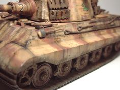 Zoom avant (dimensions réelles: 1000 x Tiger Ii, Bengal Tiger, German Names, World War Two, Military Vehicles, Wwii, Tanks, Two By Two, Models