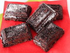 Brownies für 3 Smart Points | Weight Watchers Rezept