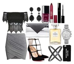 """Night out with the squad "" by kelsmthimunye on Polyvore"