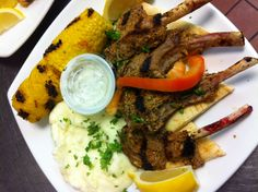 Today's lamb chop special will melt in your mouth!