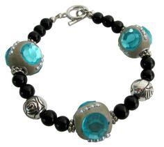Handmade Bead Bracelet Holiday Gift Bracelet    Price $9.99    http://www.fashionjewelryforeveryone.com/TrendyBraceletsStatic/TB1048.html
