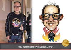 Caricatura digital, por Marc Castells Lluch (El Dibujante Rockanrolero)