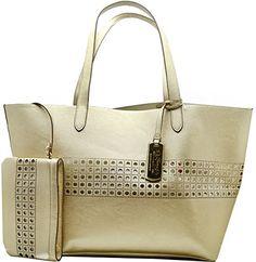 Lauren Ralph Lauren Womens Gold/ Ivory Leighton Large Tote Handbag RALPH LAUREN http://www.amazon.com/dp/B00VKPXM4U/ref=cm_sw_r_pi_dp_-46Dvb1ZTS77C