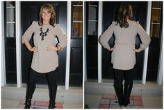 Solid Fall Tunic in Taupe