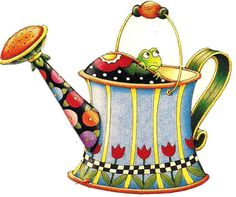 Watering Can, Frog