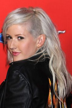 Ellie Goulding's shaved style - celebrity hair and hairstyles