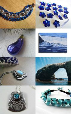 Shades of Blue--Pinned with TreasuryPin.com