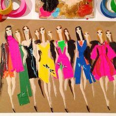 Fashion Illustration, by Donald Drawbertson.