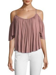 Bailey 44 Off The Shoulder Top In Pink at GILT