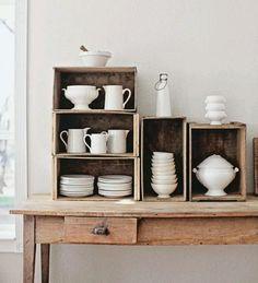 Mesa y vajilla_cocina