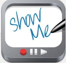 ShowMe Interactive Whiteboard- This FREE app is a great tool that your child will become familiar with this school year in our classroom. Turn an iPad into an interactive whiteboard to record voice-over whiteboard tutorials and share them online. Interactive Whiteboard, Virtual Whiteboard, Show Me App, Ipad Apps, Apps For Teaching, Teaching Ideas, Teacher Resources, Preschool Ideas, Teachers