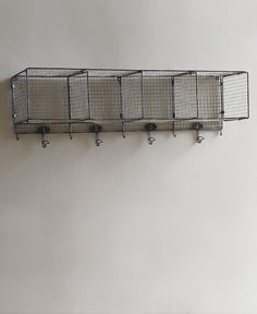 This large wire cubby shelf works wonders in a utility room or bathroom for keeping items neatly organized. The Storwell Group was fashioned after simple ,utili