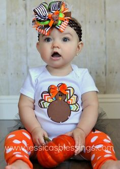 Yes please Turkey onsie Etsy 22.00 bow not included
