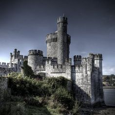 Blackrock Castle (formerly Mahon Castle) is located in Cork, Ireland. The citizens of Cork appealed to Queen Elizabeth I to construct a fort at Blackrock. The round tower structure was built around the 1600's as a stronghold against pirates and invaders. Picture by John Galvin