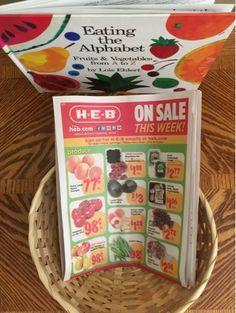 Farm, Book Basket, Learning Basket, Grocery Store, Kindergarten, PreK