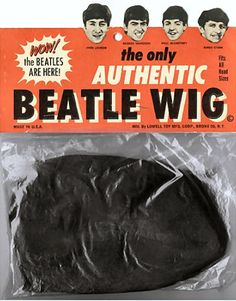 Authentic Beatle Wig to go with your Beatle Boots!