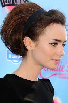 Resultado de imagen para lily collins haircut