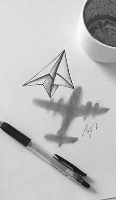 Cartoon Drawing Tips - zeichnungen - Art Sketches Cool Art Drawings, Pencil Art Drawings, Easy Drawings, Disney Drawings, Cool Drawings Tumblr, Drawing With Pencil, Cool Simple Drawings, Drawings Of Love, 3d Pencil Sketches