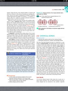Principles of Anatomy and Physiology, Chapter 2, The Chemical Level of Organization, 5, book pg33