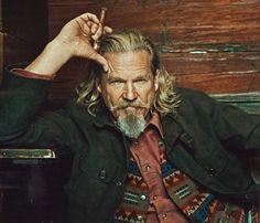 Jeff Bridges in our Wooster Field Jacket. Yep, he looks like a good mountain man!