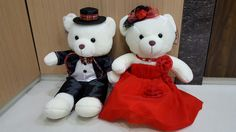 Teddy bear couple  Instagram: Lmntrix_house  Shop : Medan North Sumatra  Line : peony_nezz  Wa : 087868688188