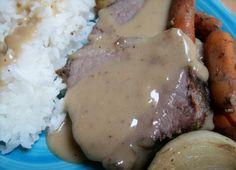 Warm And Cozy Bottom Round Roast Crock Pot Style Recipe - Food.com