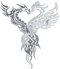 dragon and phoenix art - Google Search
