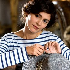 The Fashion of Coco Before Chanel Here, Audrey Tatou (of Amelie fame) is wearing a striped nautical top inspired by what French fisherman wore as underwear.